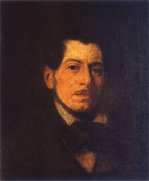 Piotr Michałowski Autoportret