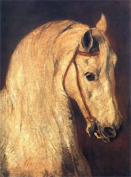 Piotr Michałowski Głowa konia
