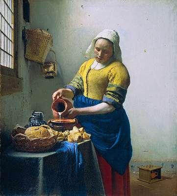 Johannes Vermeer (1632-1675) - Mleczarka