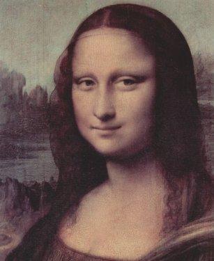 Leonardo di ser Piero da Vinci, obraz Mona Lisa, olej na drewnie