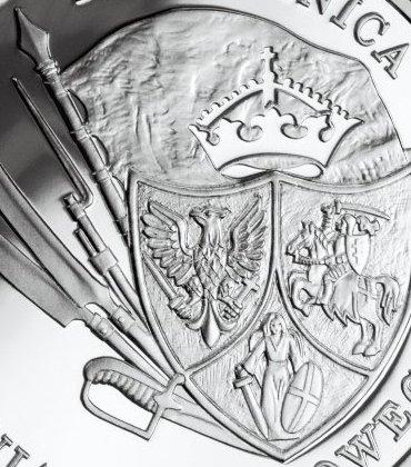 Srebrne monety numizmatyka 150. rocznica Powstania Styczniowego