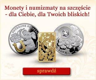 monety i numizmaty na szcz�cie