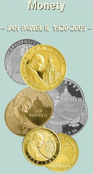 10 zł, Papież Jan Paweł II (1920 - 2005), moneta platerowana złotem, 2005
