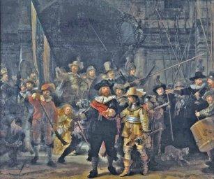 Rembrandt Night Watch - Straż Nocna Arcydzieła sztuki