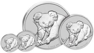 1 dolar, Koala 1oz Silver Specimen, 2010