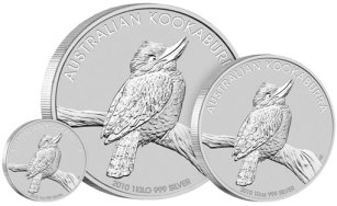 1 dolar, Kookaburra 1oz Silver Specimen, 2010