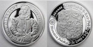 Koronowani Królowie Polski - Jan Olbracht (1492-1501) - zestaw srebrny, 2009