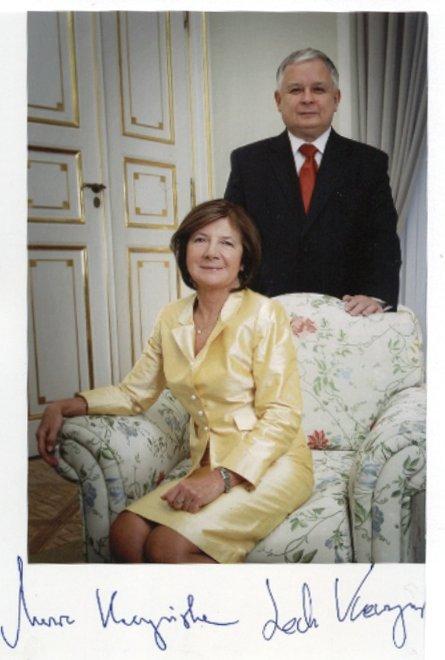 Para prezydencka Maria i Lech Kaczyński (2005-2010)