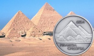 Kolekcja Starożytne Cuda Świata - Piramida Cheopsa, 2009