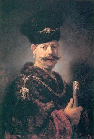 Rembrandt, Portret szlachcica polskiego, 1637 r.