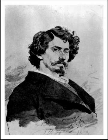 Ilja Jefimowicz Repin (1844-1930) - Autoportret (1878)