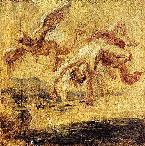 Rubens Peter Paul - The Fall of Icarus