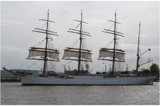20 rubli, Żaglowce - Sailing Ships - Sedov / Siedow, 2008