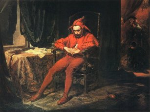 Jan Matejko - obraz Stańczyk (1862)
