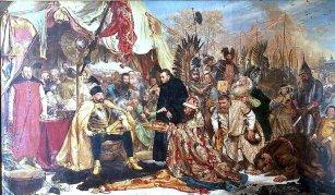 Jan Matejko - obraz Stefan Batory pod Pskowem (1872)