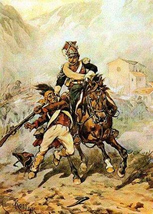 Historia Jazdy Polskiej - Szwoleżer Gwardii Cesarza Napoleona I, 2010 www.numizmatyczny.pl