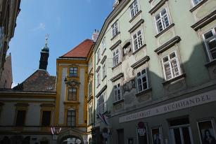 Dom przy ul. Schönlaterngasse 7 w Wiedniu, w którym mieszkał bazyliszek w roku 1212