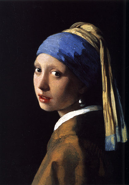 Johannes Vermeer (1632-1675) - Girl with a pearl