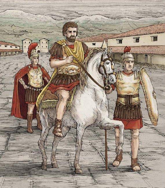 Srebrna moneta Rzymianie nad Dunajem - Vindobona