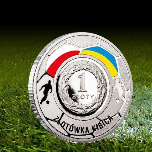 Złotówka kibica EURO 2012